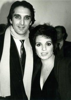Andy Warhol, Photograph of Liza Minnelli and Mark Gero circa 1986