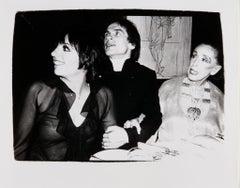 Andy Warhol, Photograph of Liza Minnelli, Rudolf Nureyev and Martha Graham 1980