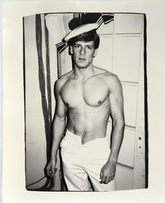 Andy Warhol, Photograph of Male Model, 1982