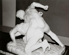Andy Warhol, Photograph of Marble Wrestlers, the Louvre, circa 1982