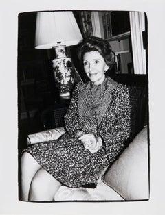 Andy Warhol, Photograph of Nancy Reagan, 1981