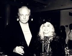Andy Warhol, Photograph of Nelson Lyon and Sylvia Miles, 1980s