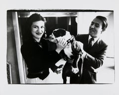 Andy Warhol, Photograph of Paloma Picasso and Raphael Lopez Sanchez, 1980