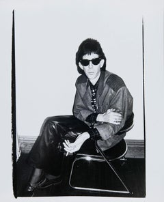 Andy Warhol, Photograph of Ric Ocasek (The Cars), 1980