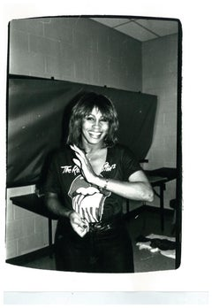 Andy Warhol, Photograph of Tina Turner, 1981