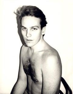 Andy Warhol, Photograph of Ulrik Trojaborg, 1986