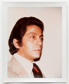 Andy Warhol, Photograph of Valentino (Garavani), 1973