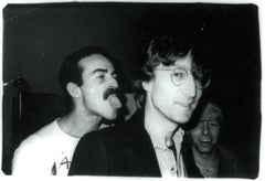 Andy Warhol Photograph, Victor Hugo and John Lennon, 1978