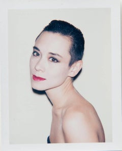 Andy Warhol, Polaroid Photo of Tina Chow, 1985