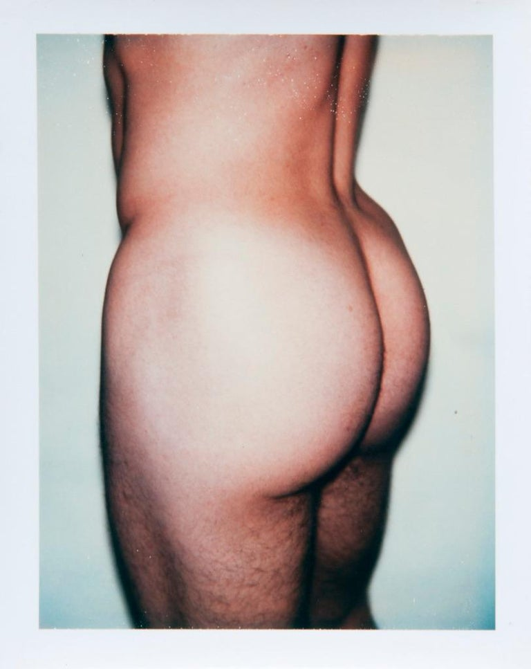 Andy Warhol, Polaroid Photograph from the 'Sex Parts and Torsos' Series, 1977 - Gray Nude Photograph by Andy Warhol