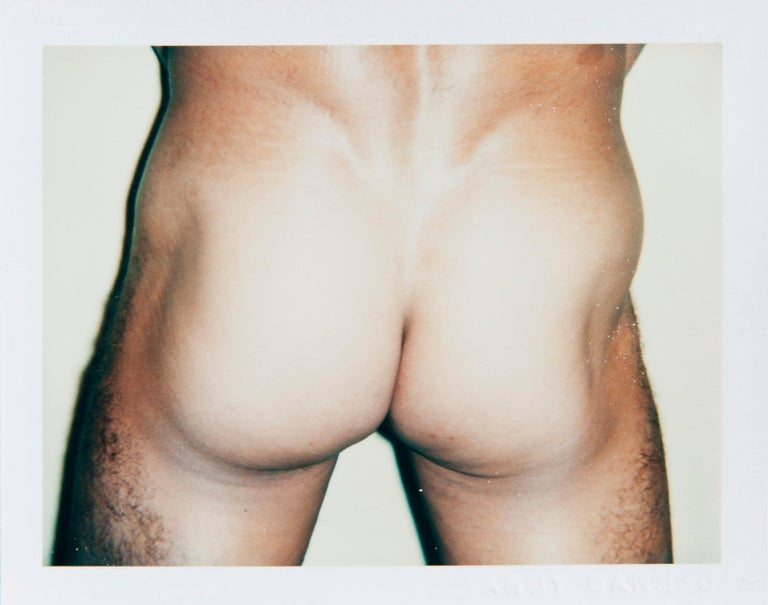 Andy Warhol, Polaroid Photograph from the 'Sex Parts and Torsos' Series, 1977 - Beige Nude Photograph by Andy Warhol