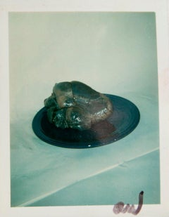 Andy Warhol, Polaroid Photograph of a Heart on a Plate, 1981
