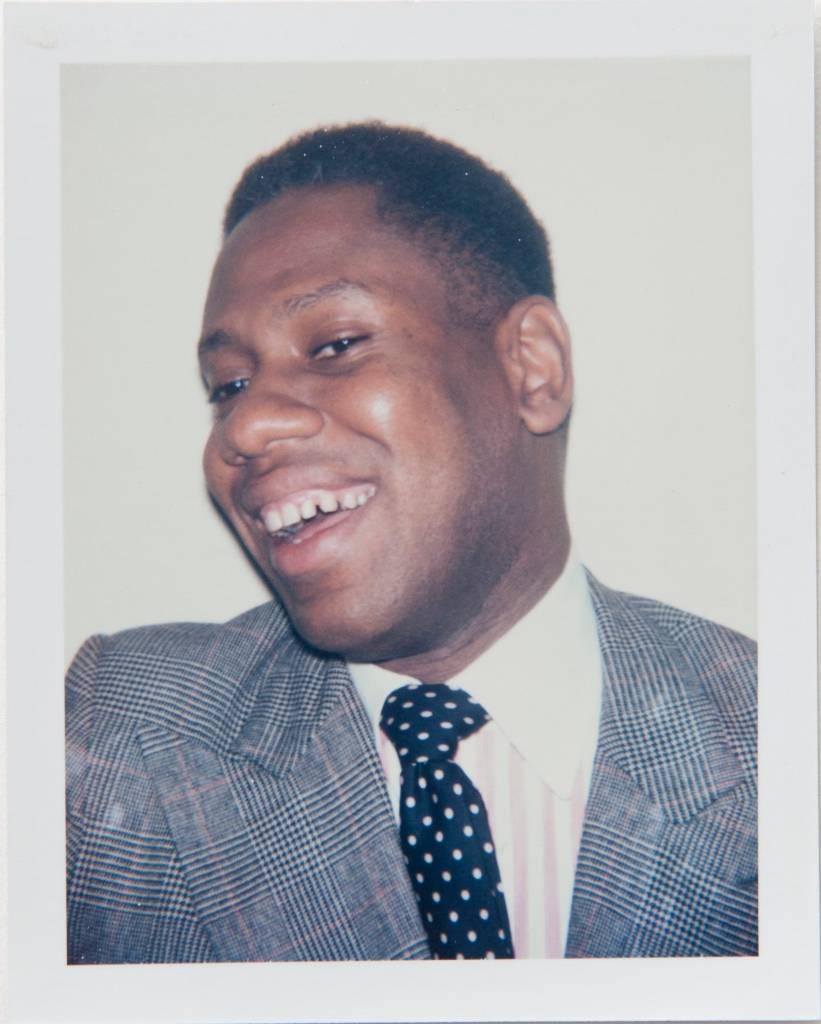 Polaroid Photograph of Andre Leon Talley