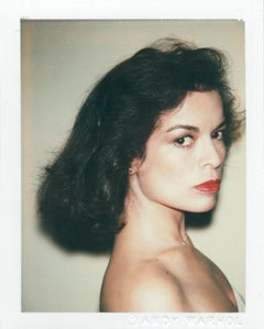 Andy Warhol, Polaroid Photograph of Bianca Jagger, 1979