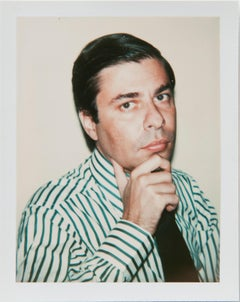 Andy Warhol, Polaroid Photograph of Bob Colacello, 1977