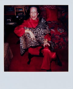 Andy Warhol, Polaroid Photograph of Diana Vreeland, 1983-4