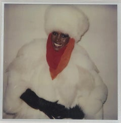 Andy Warhol, Polaroid Photograph of Grace Jones, 1984