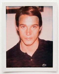Andy Warhol, Polaroid Photograph of Jed Johnson, 1973