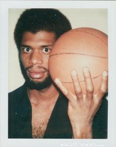 Andy Warhol, Polaroid Photograph of Kareem Abdul-Jabbar, 1978
