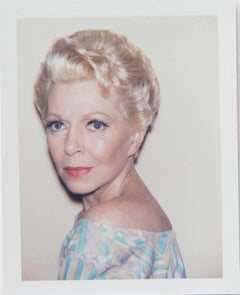 Andy Warhol, Polaroid Photograph of Lana Turner, 1985
