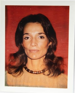 Andy Warhol, Polaroid Photograph of Lee Radziwill, 1972