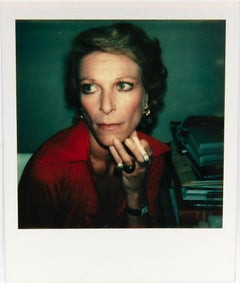 Andy Warhol, Polaroid Photograph of Nan Kempner, 1973