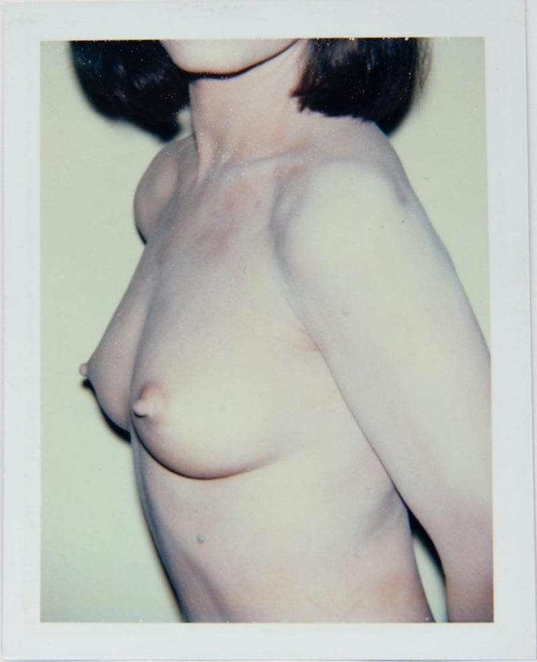 Andy Warhol, Polaroid Photograph of Pat Hearn, 1985 - Gray Nude Photograph by Andy Warhol
