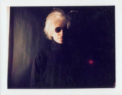Andy Warhol, Polaroid Photograph of Self-Portrait with Fright Wig, 1986