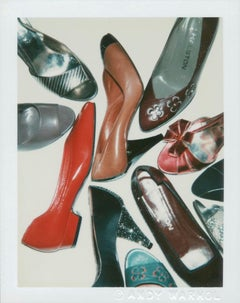 Andy Warhol, Polaroid Photograph of Shoes, 1981