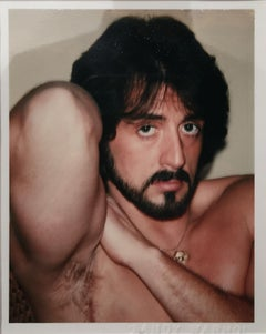 Andy Warhol, Polaroid Photograph of Sylvester Stallone, 1980