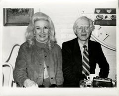 Andy Warhol, Self-Portrait Photograph with Ginger Rogers circa 1980