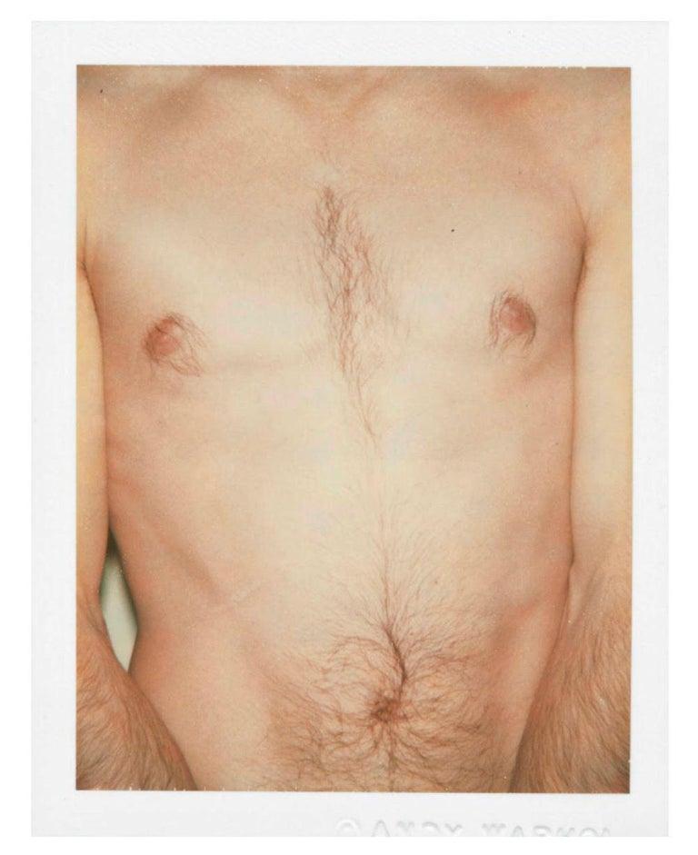 "Andy Warhol ""Torso"" Polaroid, 1977 - Photograph by Andy Warhol"