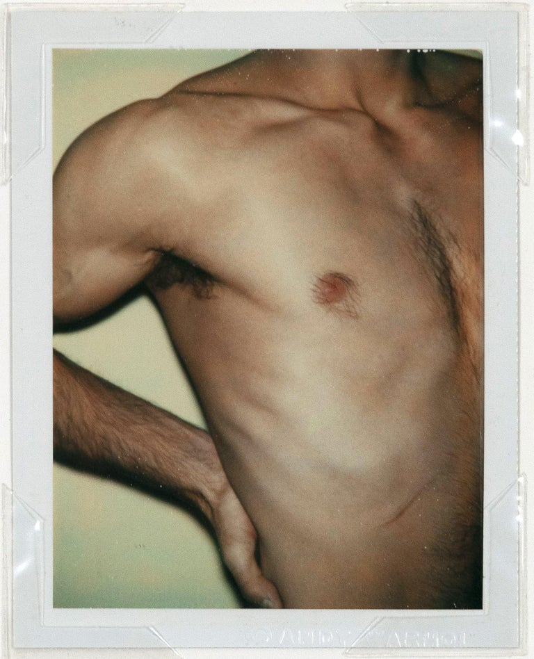 "Andy Warhol ""Torso X"" Polaroid, 1977 - Photograph by Andy Warhol"