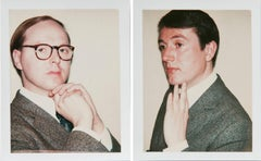 Andy Warhol, Two Polaroids, Gilbert Prousch and George Passmore, 1975