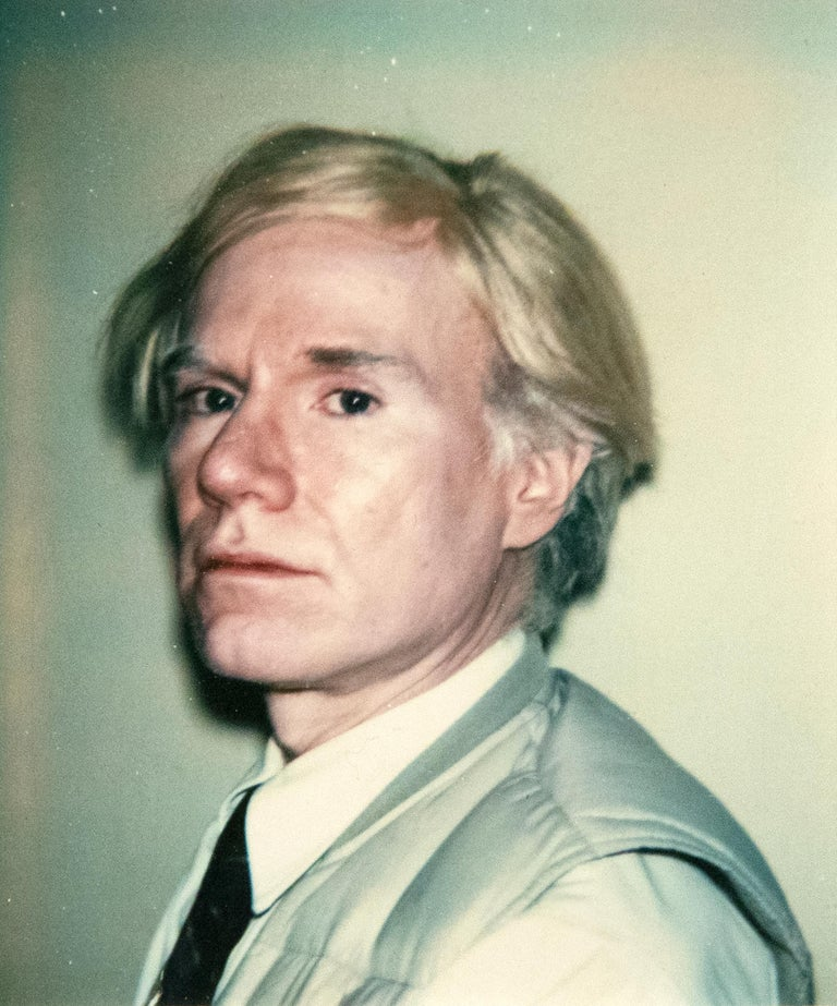 Andy Warhol Portrait Photograph - Any Warhol Self-Portrait