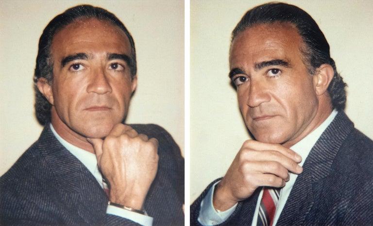 Andy Warhol Portrait Photograph - Bruno Acampora