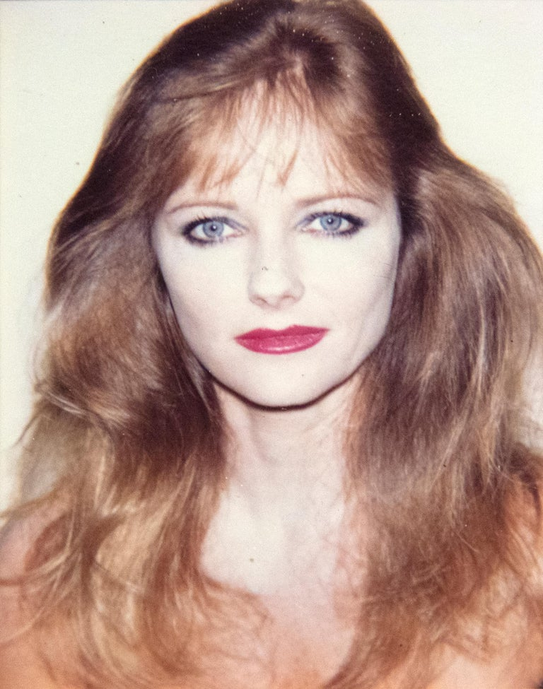 Andy Warhol Portrait Photograph - Cheryl Tiegs