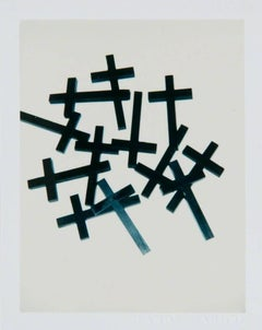 Andy Warhol, Polaroid Photograph of Crosses II, 1982
