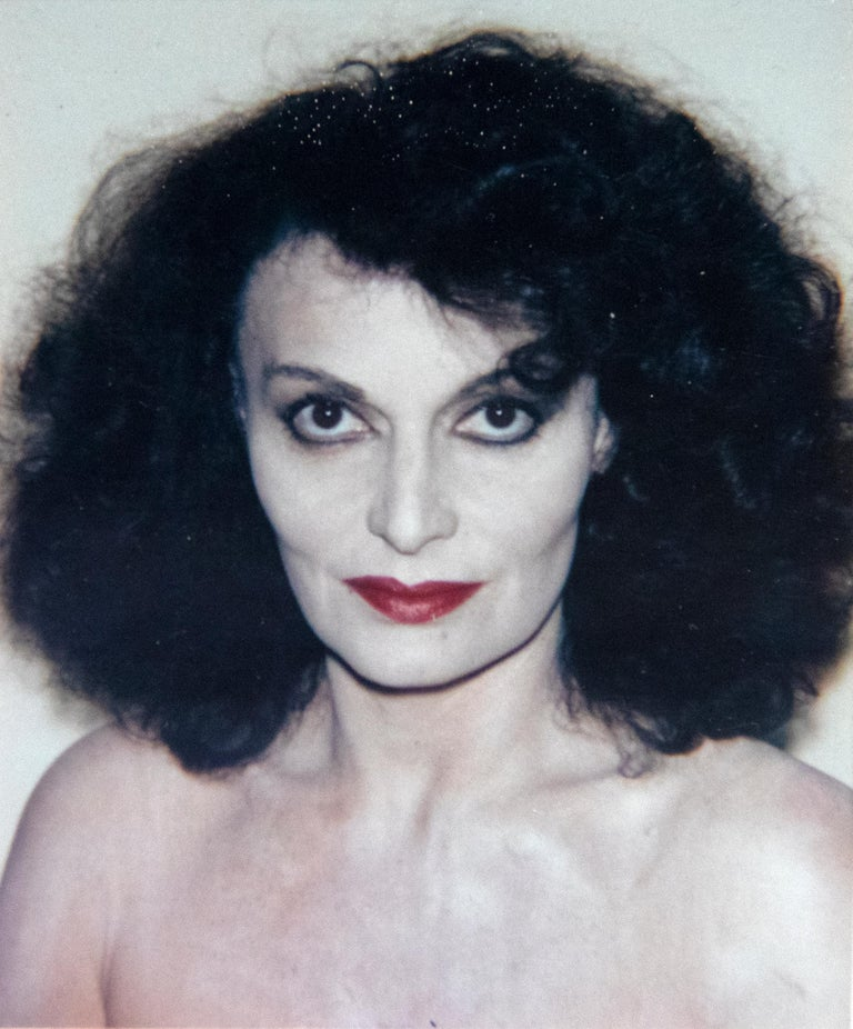Andy Warhol Color Photograph - Diane Von Furstenberg