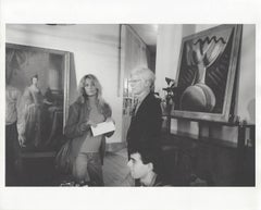 Farrah Fawcett and Andy Warhol photographed by Rupert Jason Smith