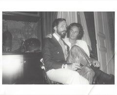 Fred Hughes and Patrice Cametes photographed by Andy Warhol