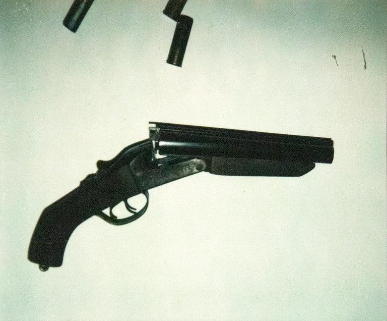 Andy Warhol Color Photograph - Gun