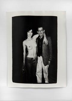 Helmut Newton & Unidentified Woman