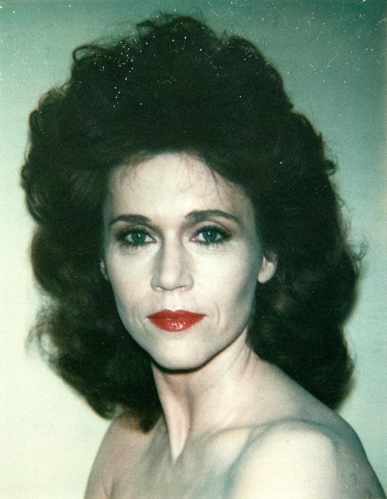 Andy Warhol Color Photograph - Jane Fonda