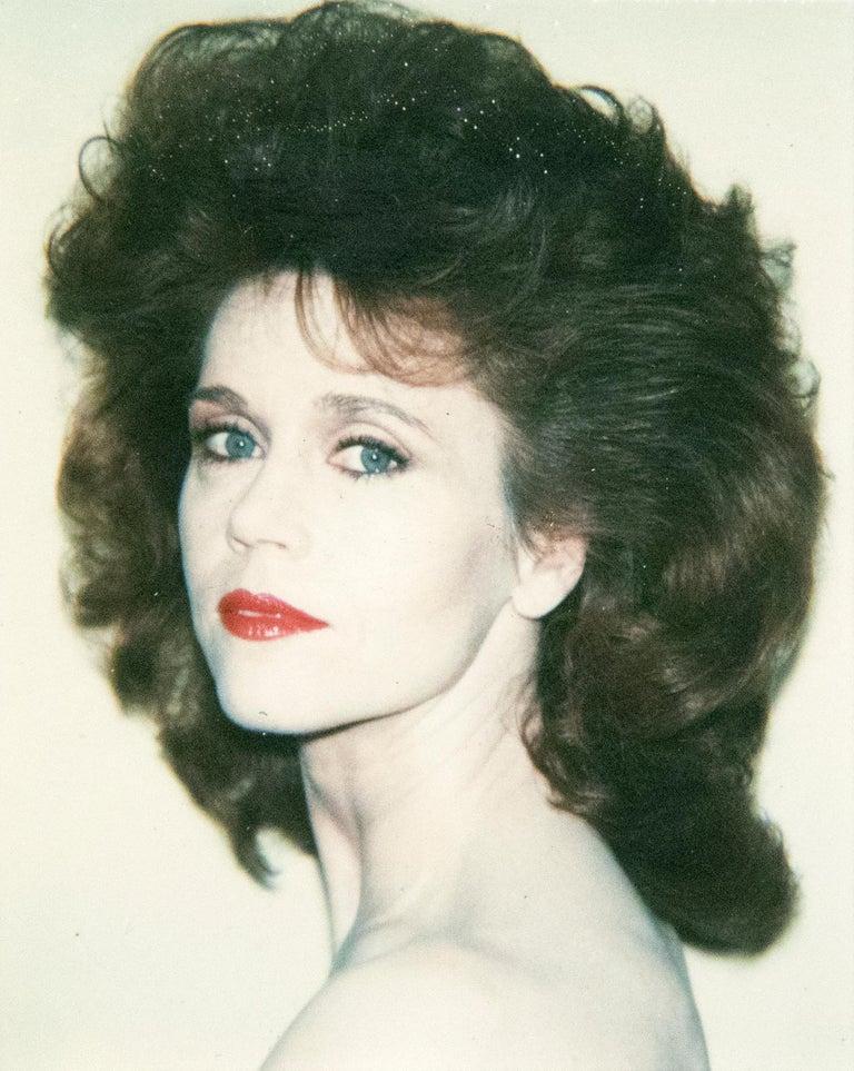 Andy Warhol Figurative Photograph - Jane Fonda