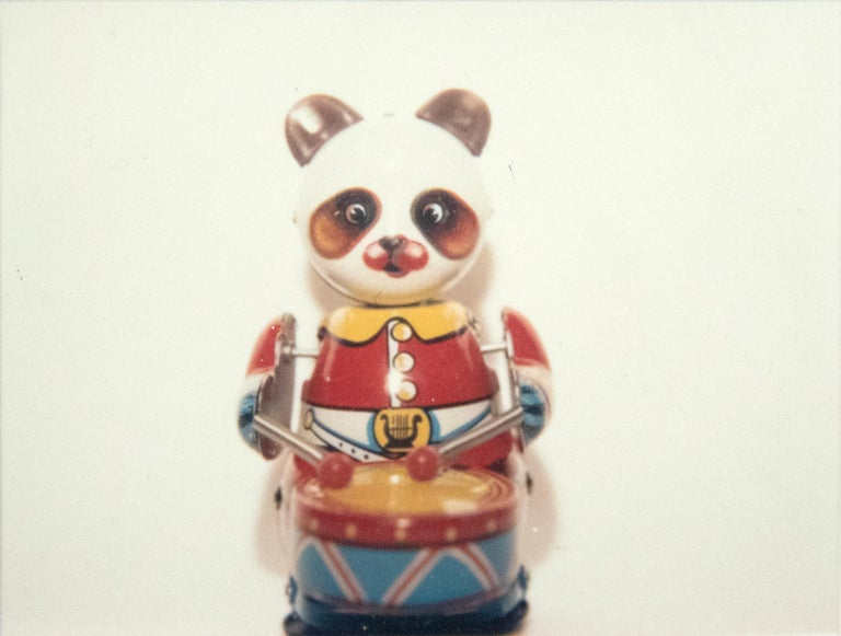 Andy Warhol Color Photograph - Japanese Toy (Panda with Drum)