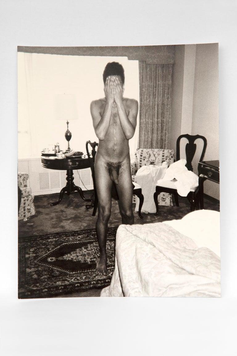 Andy Warhol Nude Photograph - Jean-Michel Basquiat