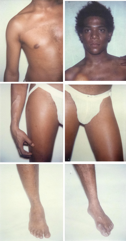 Jean-Michel Basquiat Six Polaroids