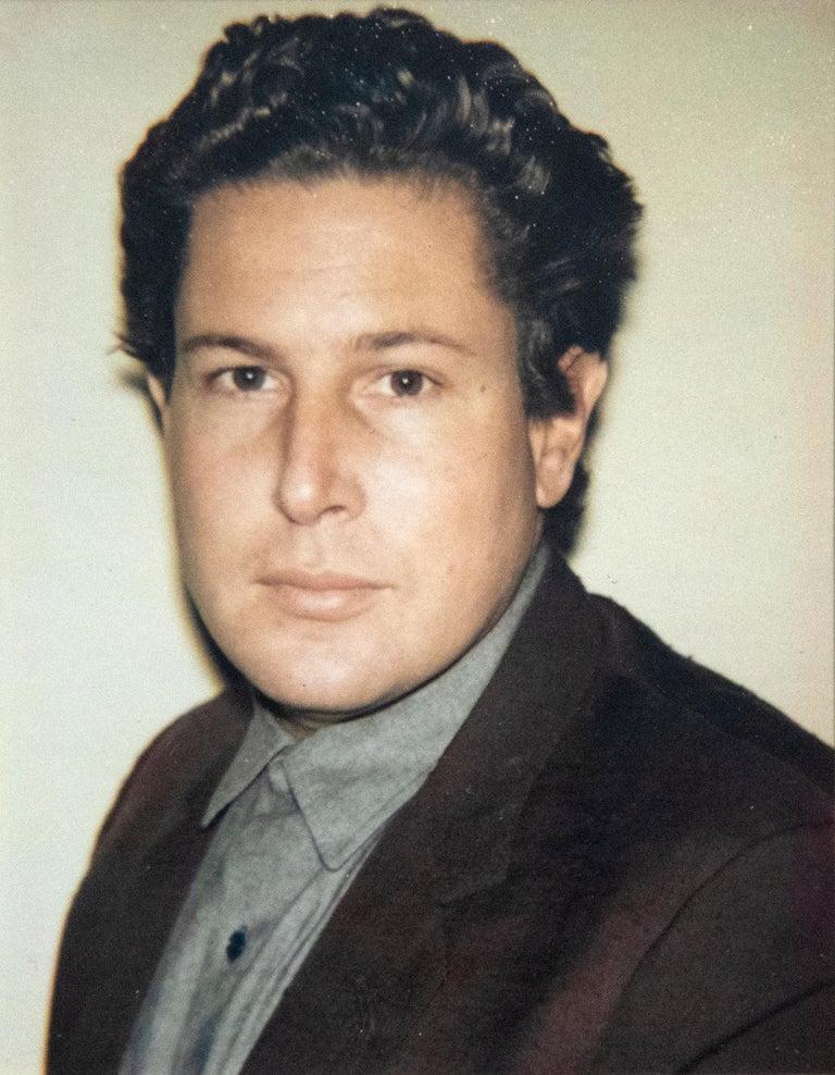 Julian Schnabel 4 Polaroids - Pop Art Photograph by Andy Warhol