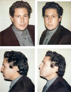 Julian Schnabel 4 Polaroids